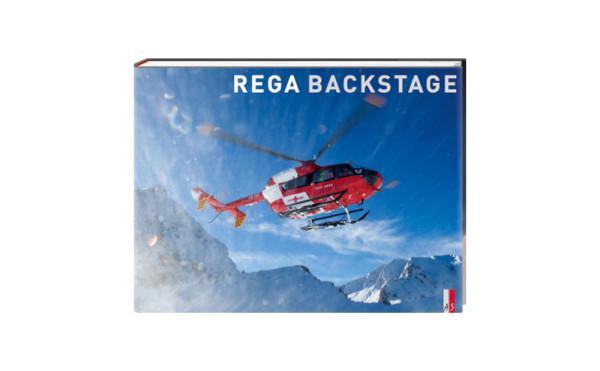 Bildband «Rega - Backstage», zur vergrösserten Darstellung