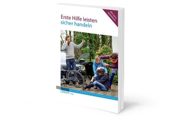 Buch «Erste Hilfe leisten, sicher handeln», zur vergrösserten Darstellung