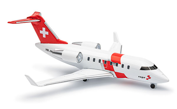 Challenger 650, mini model (scale1:160), to the enlarged image