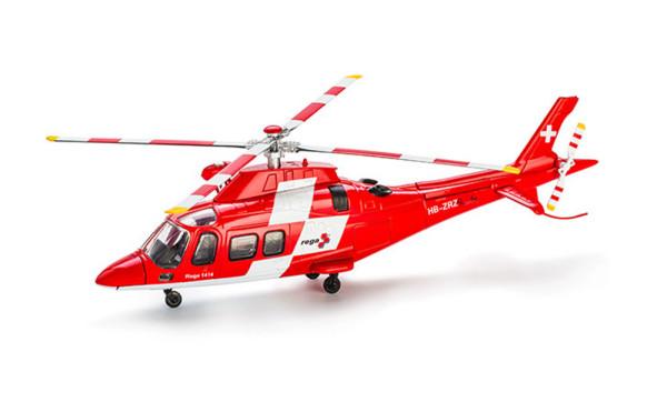 Hélicoptère AgustaWestland Da Vinci, modèle reduit 1:43, pour agrandir l'affichage