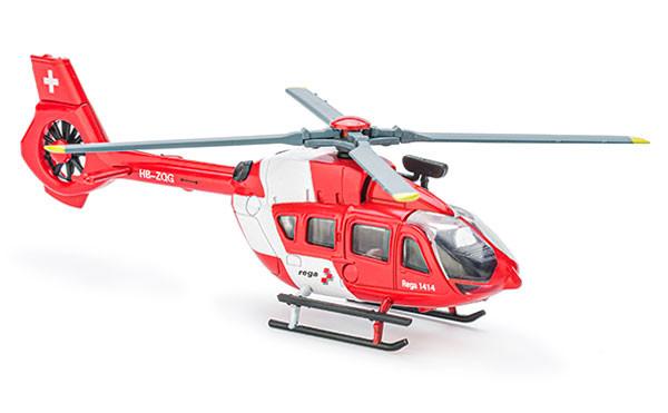 Airbus Helicopters H145, Modello mini (scala 1:82), presentazione ingrandita