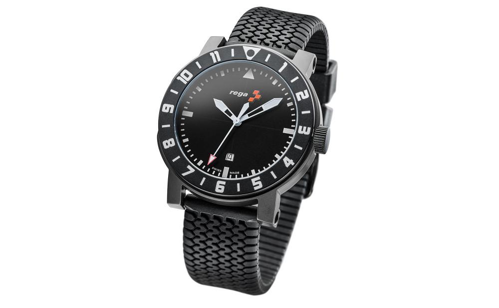 Solararmbanduhr schwarz, Limited Edition, zur vergrösserten Darstellung